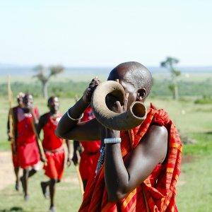 KE.Masai in Maisai Mara NP