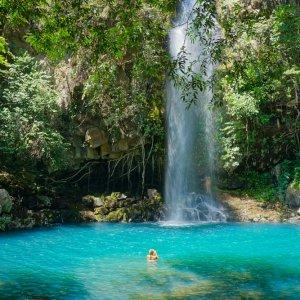 CR.Rincon de la Vieja Nationalpark Wasserfall II Costa Rica Nationalparks Rincón de la Vieja Guanacaste-Provinz La Cangreja Wasserfall