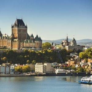 CA.Quebec_Vieux_Québec Kanada Quebec Altstadt historisches Stadtteil Vieux-Quebec