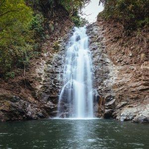 CR.Montezuma_Wasserfall Der Blick auf den Wasserfall von Montezuma.