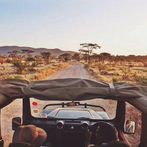 Safari im Amboseli NP