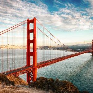 Die Golden Gate Bridge in San Francisco, USA