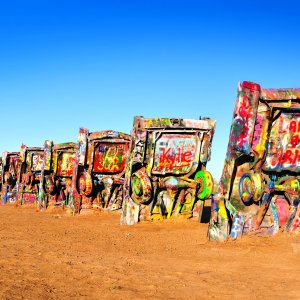 Cadillac Ranch bei der Route 66