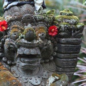 Bali.Monkey_Forest_Ubud_Statue Mandala Wisata Wenara Wana Monkey Forest Ubud Affenwald Ubud Sacred Monkey Forest Sanctuary Statue