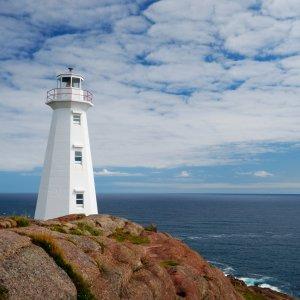 Kanada Neufundland Newfoundland Cape Spear Leuchtturm