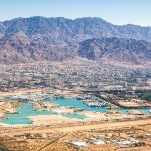 JO.Aqaba.Luftaufnahme Luftaufnahme der Region Aqaba