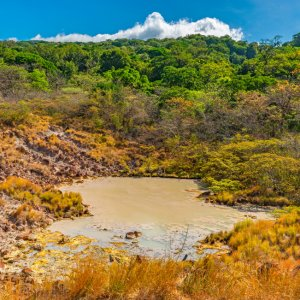 CR.Rincon_de_la_Vieja_Nationalpark_Landschaft Costa Rica Nationalparks Rincón de la Vieja Guanacaste-Provinz Schwefellagune