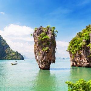 """TH.Phang_Nga_Bay Die kleine Insel """"Ko Ta Pu"""" in der Phang Nga Bucht"""