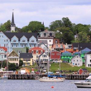 Kanada Lunenburg Nova Scotia Weltkulturerbe Architektur Hafen