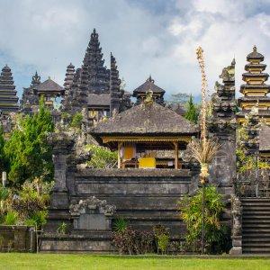 "Bali.Amed.Tempel Hinduistische Tempelanlage ""Pura Besakih"" in Amed, Bali"