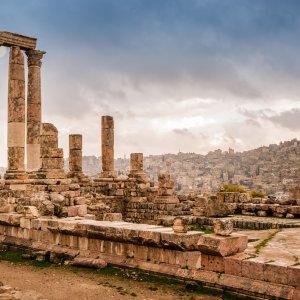 JO.Amman_Citadel Jordanien Jabal Al Qal'a Amman Citadell