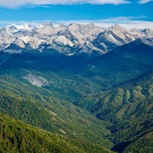 Blick über die Landschaft des Nationalparks