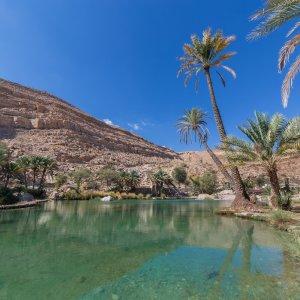 OM.Wadi_Bani_Khalid Oman Wadi Bani Khalid Oase