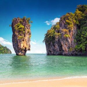 TH.AR.Phuket James Bond Fels Der berühmte James Bond Fels bei Tag
