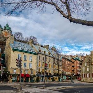 Kanada Quebec Altstadt historisches Stadtteil Vieux-Quebec Unterstadt