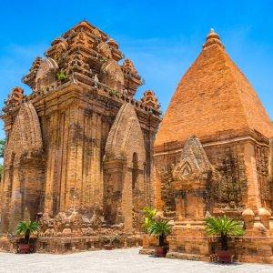 """VN.Po_Nagar_Tempel Der Tempel """"Po Nagar"""" in Vietnam"""