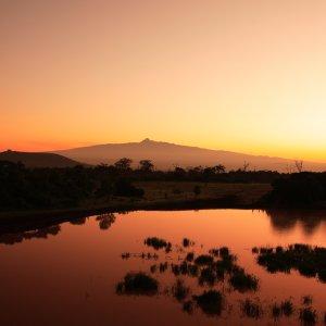 Sunrise Mount Kenia