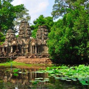 KH.Preah_Khan_Tempel mystischer Tempel Preah Khan in Siem Reap