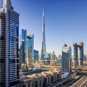 UAE.POI.Burj Khalifa 5 Burj Khalifa bei Tag