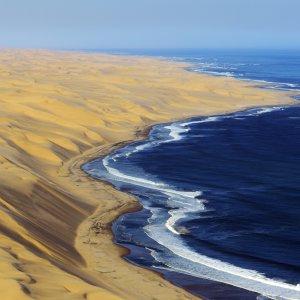 NA.Skelettkueste Die nördliche Meeresküste Namibias auch Skelettküste genannt