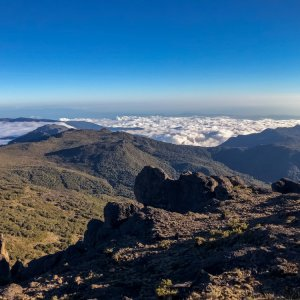 CR.Cerro_Chirripo_Ausblick Costa Rica Cerro Chirripo highest point Chirripo National Park Zentralamerika