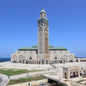 MA.POI.Hassan Moschee 2 Blick auf die Hassan Moschee
