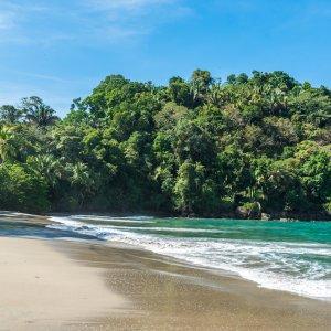 CR.Nationalpark Manuel Antonio 2 Strand des Manuel Antonio Nationalparks