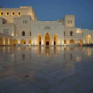 OM.Royal Opera House Muscat.Nacht