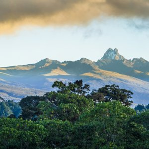 Panorama auf Mount kenia
