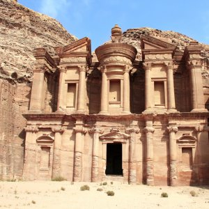 JO.POI.Ad Deir Ad Deir Jordanien Ad-Dair Kloster Petra ad-Dair El-Dair Monastery Al-Deir El Deir