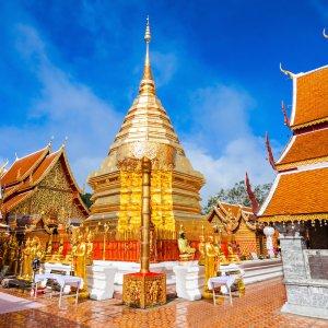 """TH.Wat_Doi_Suthep Der """"Wat Doi Suthep"""" im thailändischen Chiang Mai"""