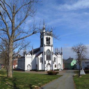 Kanada Lunenburg Nova Scotia Weltkulturerbe Architektur Kirche St. John