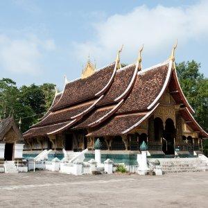 Laos.Wat_Xieng_Thong Der sakrale Waht Xieng Thong Tempel