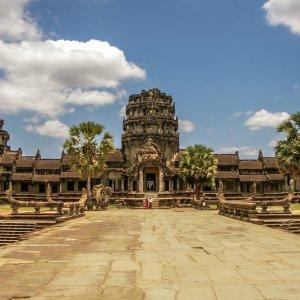 KH.Angkor_Wat_Tempel Der Tempel von Angkor Wat in der Nähe von Siem Reap