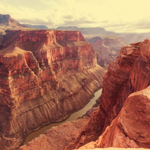 US.POI.Grand Canyon Nationalpark 1 Blick über die Felsen des Nationalparks