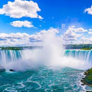 Niagarafälle aus der Luft