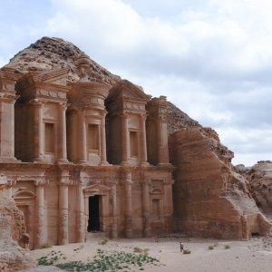 JO.Ad_Deir Ad Deir Jordanien Ad-Dair Kloster Petra