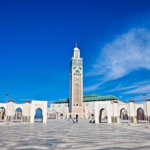 MA.POI.Hassan Moschee 1 Vorplatz der Moschee