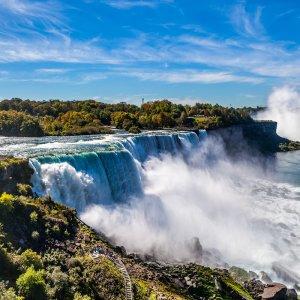 CA.Niagarafälle_1 Niagarafälle im Sommer