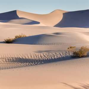 US.AR.Death Valley National Park Sanddünen Blick auf Sanddünen