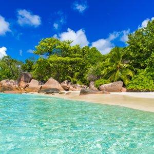 """SC.Anse_Lazio Der schönste Strand der Seychellen """"Anse Lazio"""""""