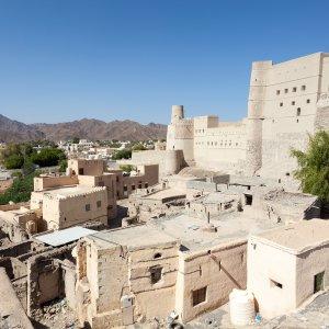 OM.POI.Jebel Akhdar 3 Die Festung Nakhal Fort