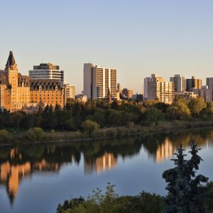 Kanada Saskatchewan Saskatoon Saskatchewan River