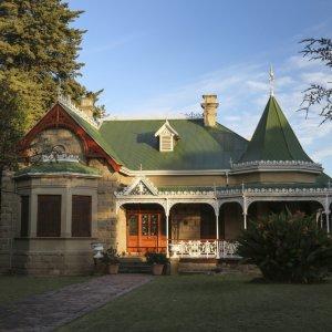 """ZA.Oudtshoorn.Farm_House Die Architektur eines sogenannten """"Straußenpalast"""" in Oudtshoorn"""