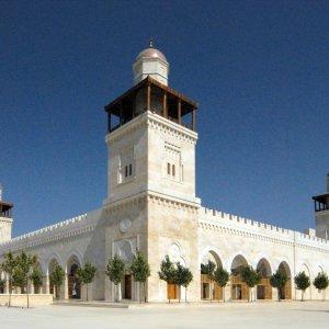 """JO.Amman.Moschee Die """"King-Hussein-Moschee"""" in Amman"""