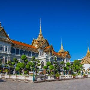 """Der  königliche Palast """"Grand Palace"""" im thailändischen Bangkok"""