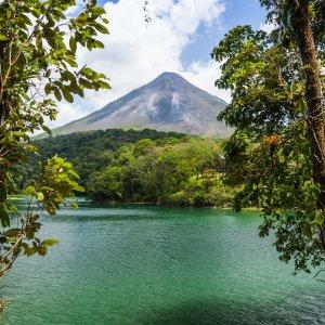 CR.Vulkan Arenal 4 Blick auf den Vulkan Arenal