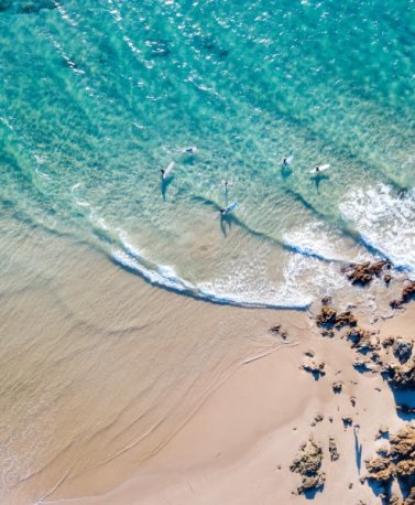 AUS. Byron Bay Surfing