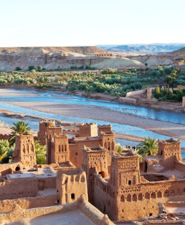 MAR.Ouarzazate.Kasbah am Fluss