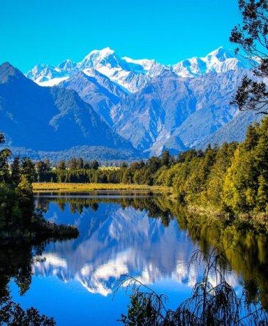 NZ.Matheson Lake